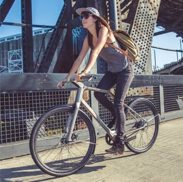 This 3D Printed Bike Tells You Where to Go