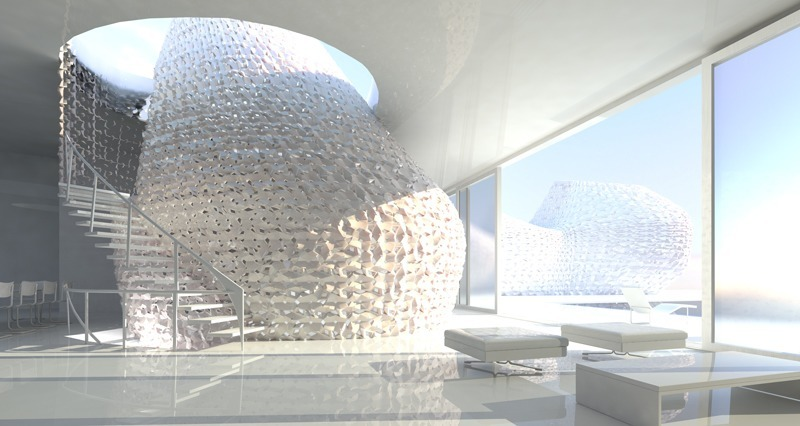 The race to perfect the 3D printed house is on