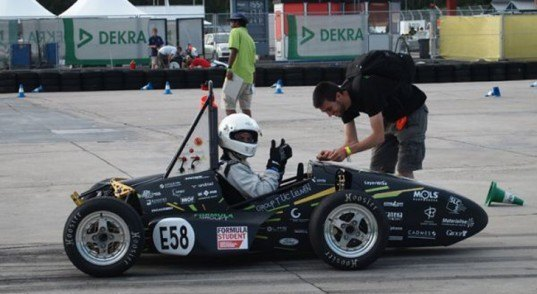 World's First 3D Printed Formula Race Car