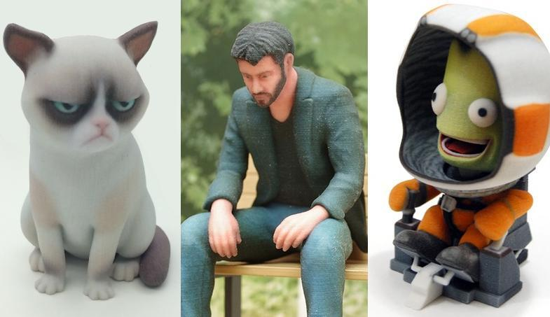 3D Printer Creates Characters And Creatures From Famous Movies